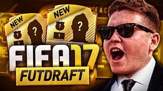 FIRST FIFA 17 FUT DRAFT!!!