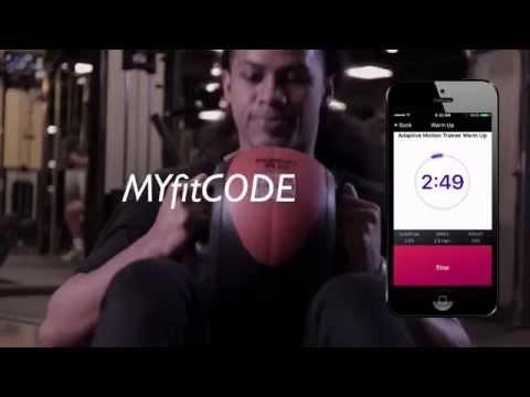 The Revolutionary New MYfitCODE Fitness app