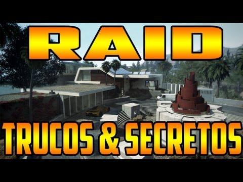 Black Ops 2: Trucos & Secretos en Raid