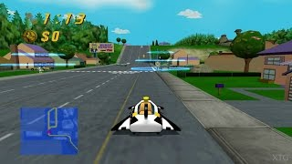 The Simpsons: Road Rage PS2 Gameplay HD (PCSX2)