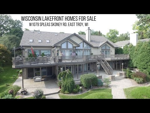 Wisconsin Lakefront Homes For Sale