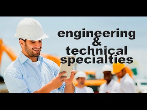 Study in Russia. ENGINEERING & TECHNICAL SPECIALTIES