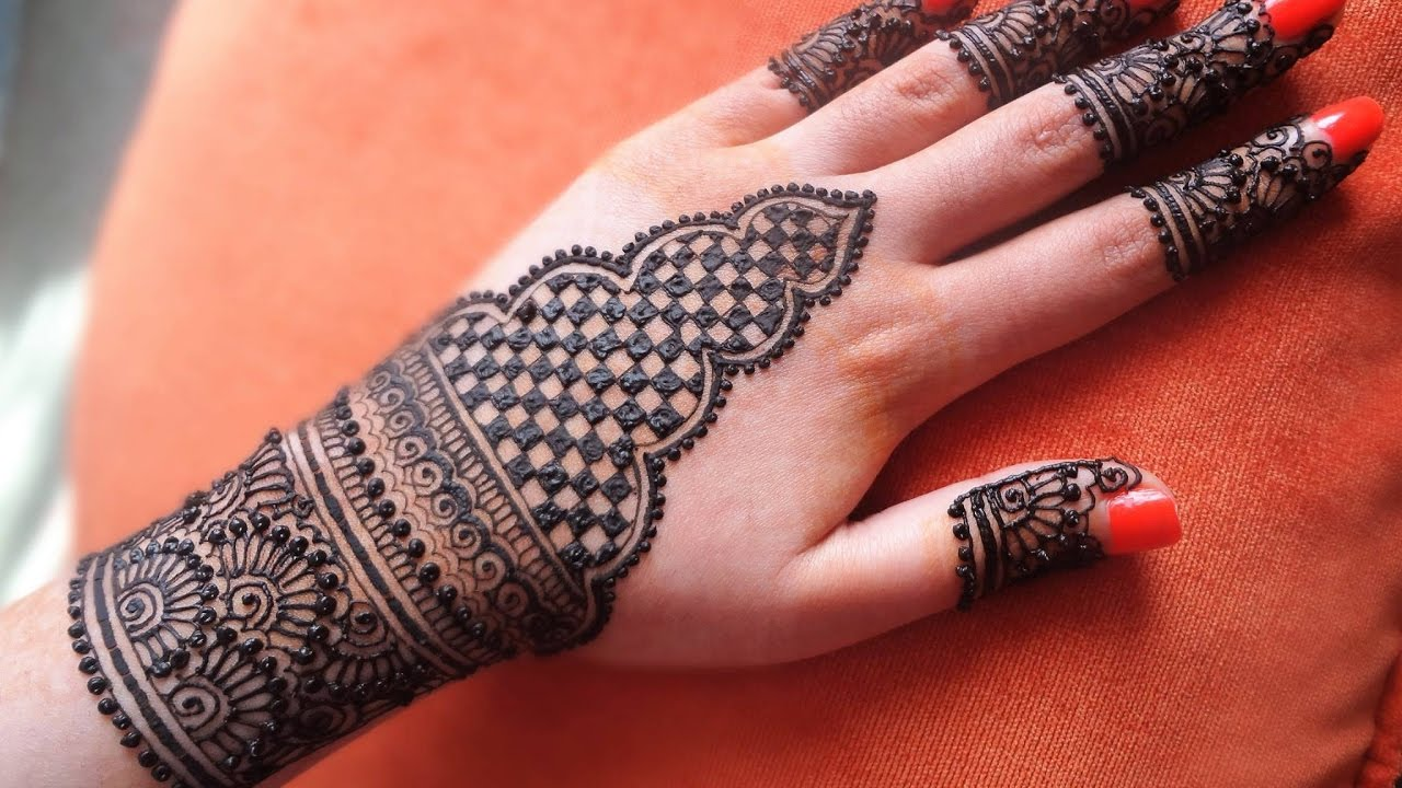 Lovely Henna Designs That Are Easy To Repeat: Best And Beautiful Easy Simple Henna Mehandi Designs