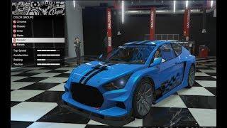 GTA 5 - DLC Vehicle Customization (Vapid Flash GT) and Review