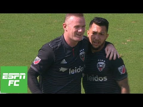 Wayne Rooney scores twice, including winner for D.C. United vs Chicago Fire | MLS Highlights