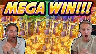 MEGA WIN!!! Book Of Dead BIG WIN - Casino game from CasinoDaddy Live Stream