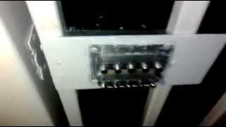 видео Кодовый замок на калитку, ворота, установка