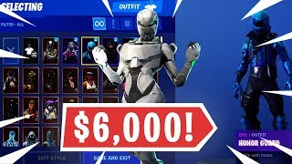 MY $6000+ FORTNITE LOCKER SHOWCASE + RARE BANNER! OVER 230+ SKINS! (Season 9)
