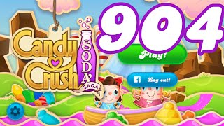 Candy Crush Soda Saga Level 904 No Boosters