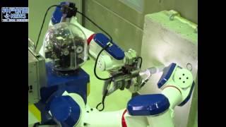 三菱重工業神戸造船所が原発作業ロボット公開