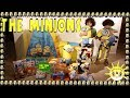 Twins hunting for Minion Toys inside a Minion House full of Funny and Fun Sounds and Effects