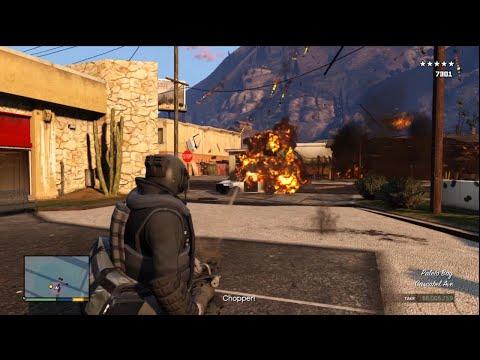GTA V Gameplay/Commentary [Part 97] - Military Grade Bulldozer Bank Heists!