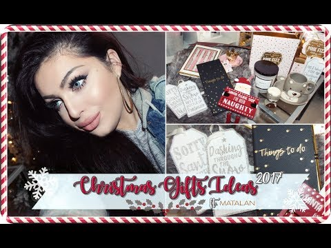 CHRISTMAS GIFTS IDEAS + Shop with me ft. MATALAN 🎅🏻🎁 Smashing Darling x