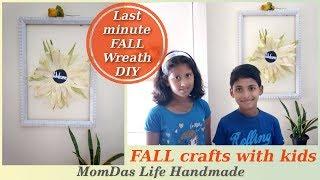 Last minute FALL DIY / Quick & Easy FALL Wreath