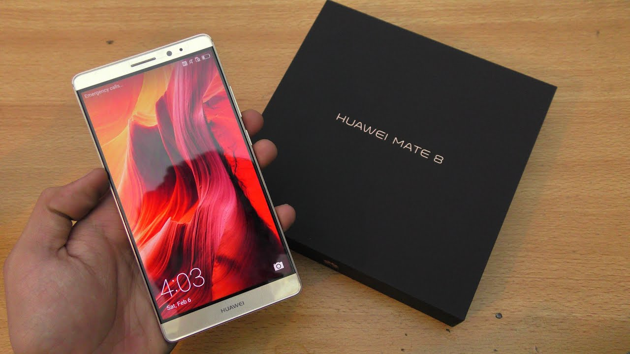 Huawei Mate 8 - Unboxing  First Look  U0026 Setup   4k