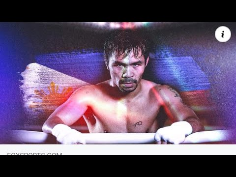 Philippines Manny Pacquaio Retires From Boxing And Will Run For The Presidency By Eric Pangilinan