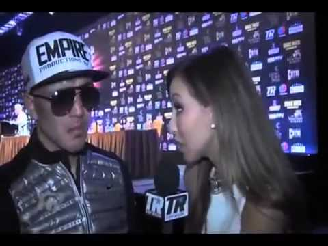 Brandon Rios Cries During Interview After Loss To Manny Pacquiao
