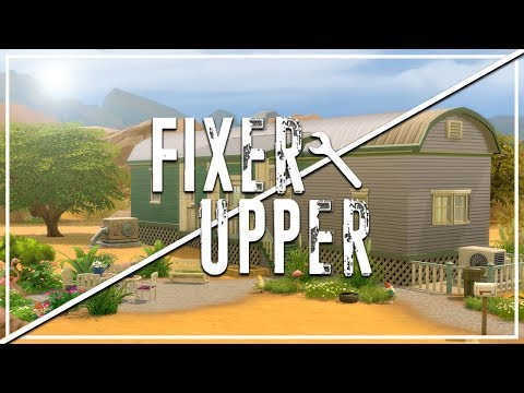 JOHNNY ZEST'S TRAILER // The Sims 4: Fixer Upper - Home Renovation