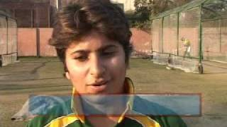 National Women Cricket Team appreciating Nepalese Cricket Team Visit to Pakistan