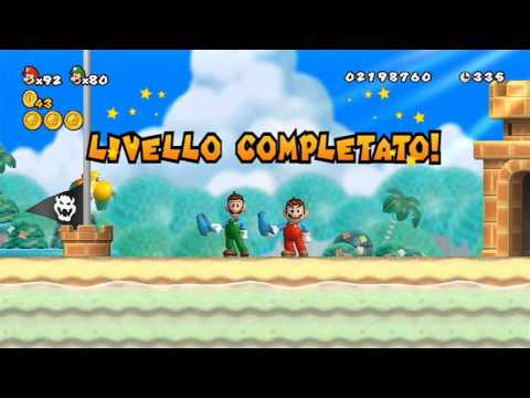 Thumbnail: New Super Mario Bros Wii - 100% Walkthrough Co-op ITA - Parte 08 di 19
