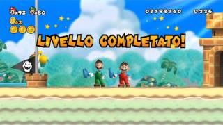 New Super Mario Bros Wii 100 Walkthrough Co op ITA Parte 08 di 19