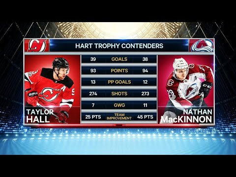 Taylor Hall or Nathan MacKinnon: who should win Hart Trophy?