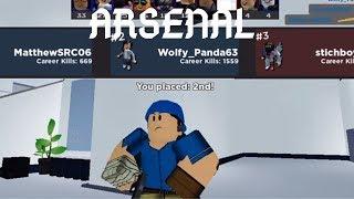 Jouer un tour d'Arsenal - Roblox