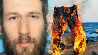 guy refuses to put on mask and sprays cops with AK47 - liar liar pants on fire
