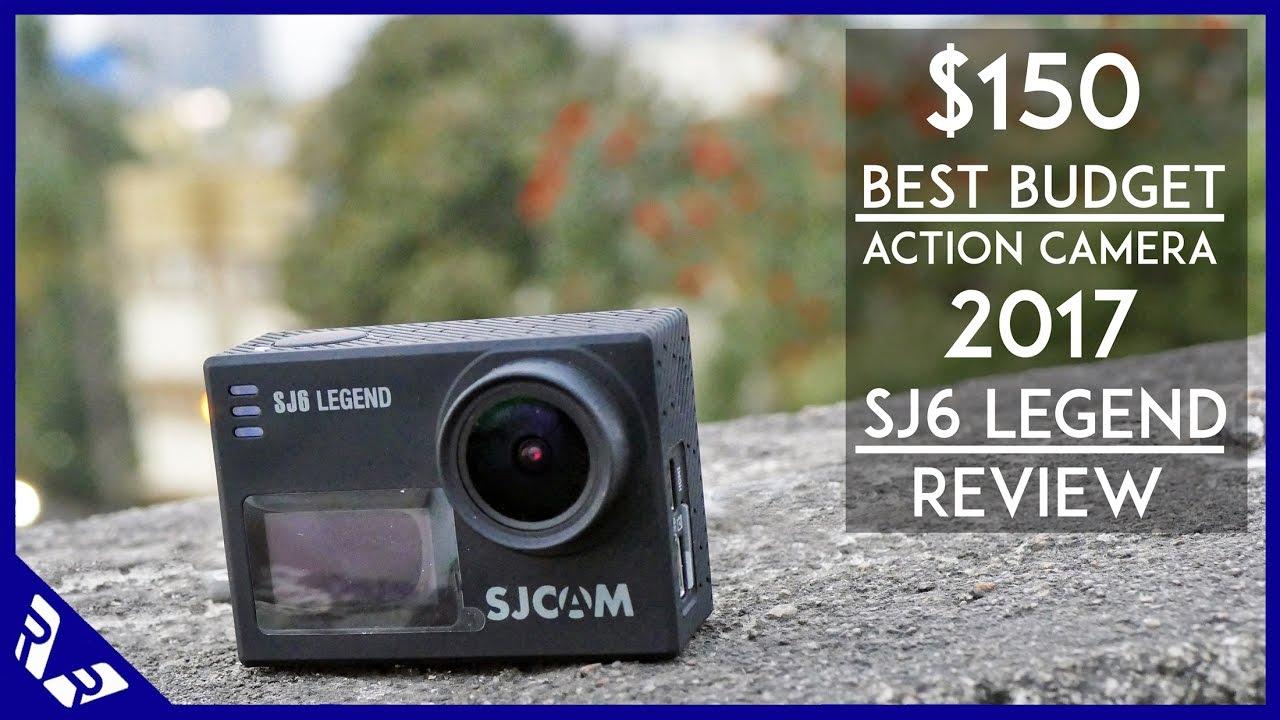 $150 Best budget Action Camera 2017   SJ6 Legend Review Vs GoPro ...