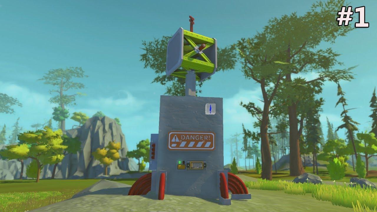 Scrap mechanic station radar m t o 1 laisser libre - Laisser libre cours a son imagination ...