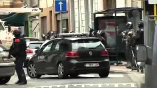 Опубликовано видео задержания организатора терактов полицией Бельгии(Бельгийские СМИ распространили видео возможного задержания предполагаемого организатора терактов в Пари..., 2016-03-18T22:20:04.000Z)