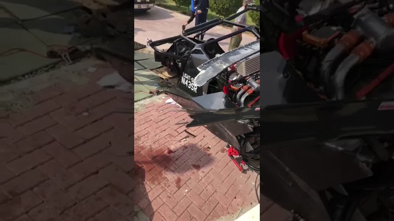 Flying Car Crashes Into Building, Pilot and Passenger Survive