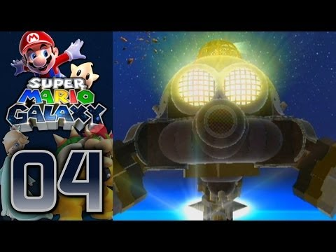 Super Mario Galaxy (100%): Part 4 - Two Bosses, One Plumber