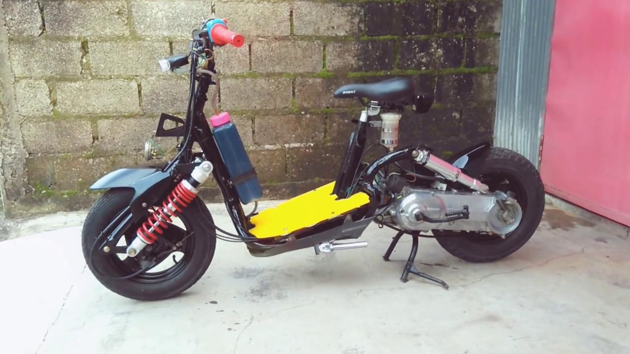 Gambar Gaya Modifikasi Mesin Motor Qingqi 50cc Konsepmodif