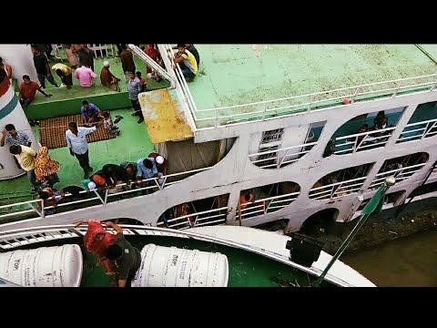 Sundarban 5  & Karnaphuli 12 launch collision while leaving Sadarghat ( Dhaka River Port)