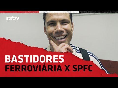 BASTIDORES: FERROVIÁRIA 1x2 SÃO PAULO | SPFCTV