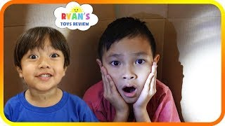 I MAILED MYSELF to Ryan ToysReview and it WORKED! It Gone WRONG to Different House, Skit TigerBox HD