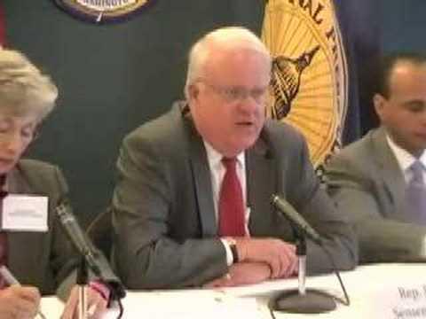 Rep. James Sensenbrenner at an ICFJ panel