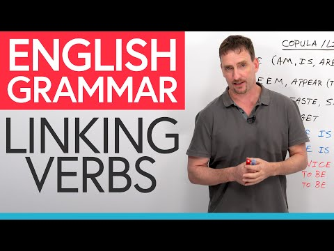 English Grammar: Linking Verbs (Copula)