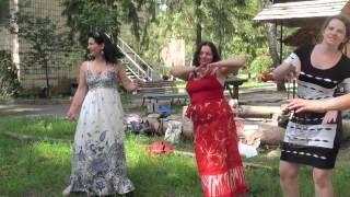 """Елена Данько (Киев). """"Мандала-танец, или Движение в потоке с миром"""" (11.06.2015) 00073"""