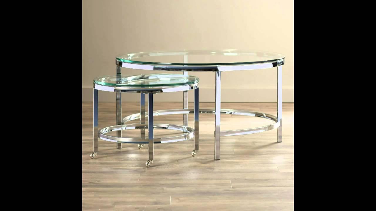 small spaces small nesting coffee tables youtube