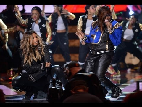 BET BLACK GIRLS ROCK PERFORMANCE CIARA BRINGS OUT SURPRISE GUEST MISSY ELLIOT