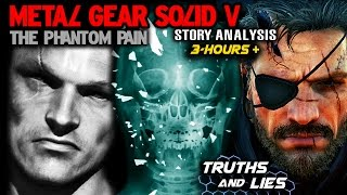 MGS5 Story Analysis - ENDING is a LIE? Ishmael is a Hallucination?! Venom Snake is GRAY FOX?!
