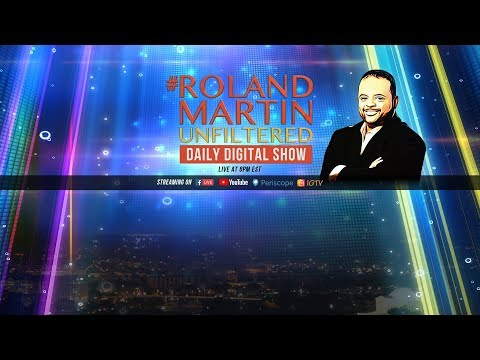 10.25.18 #RolandMartinUnfiltered: Bombs to Trump critics; Avenatti: Dem nominee should be white male