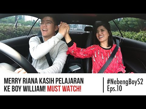 Merry Riana kasih pelajaran ke Boy William! MUST WATCH! - #NebengBoy S2 Eps. 10