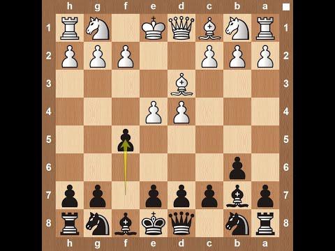 Matinovsky Gambit - Chess Opening