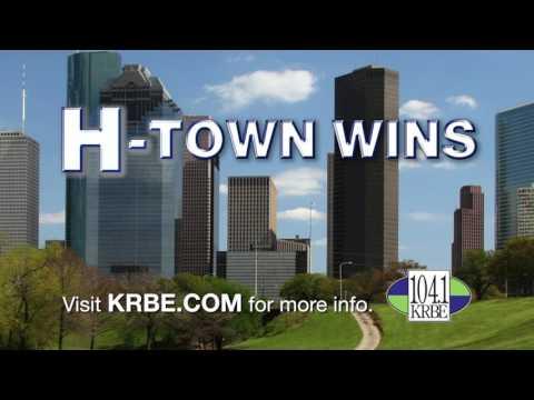 1041 KRBE  HTown Wins!
