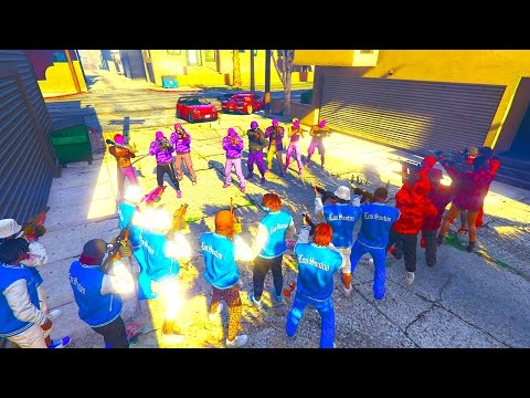 BLOODS VS CRIPS WHO WILL WIN? PART 5