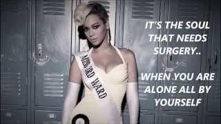 Repeat youtube video Beyoncé - Pretty Hurts Lyrics
