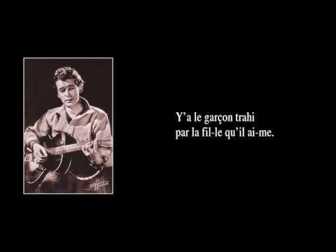 ELLE N'EST PAS JOLIE – version de 1951 – avec paroles
